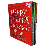 Happy Families Collection 10 Books Box Set By Allan Ahlberg Children Pack NEW