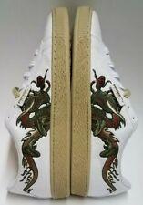Puma Court Classic Dragon Patch White Men's Shoes Size 11