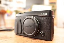 Fujifilm X Series X-E1 Digital Camera - Black (Body Only)