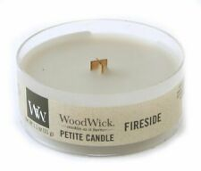 10 pc Fireside WoodWick Petite Candles - New