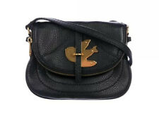 MARC BY MARC JACOBS BLACK PETAL TO THE METAL BIRD POUCHETTE BLACK CROSSBODY NEW