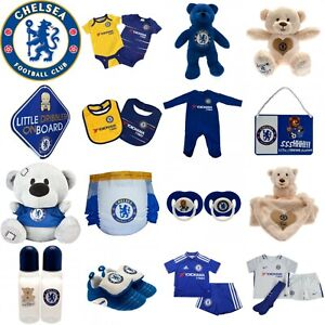 Chelsea Babygrow, Sleepsuit Vests Body Suit Kit Baby Teddy, Dummies, Botles Bibs