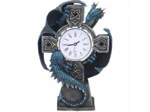 Nemesis Now - GOTHIC DRAGON CELTIC CLOCK - Draco Anne Stokes