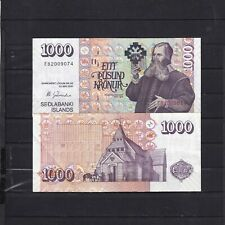More details for iceland,2001//1000 kronur .aunc,,(ref 1)