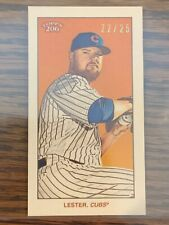 Jon Lester - Cycle Back Variant (#'d 22/25) - 2020 Topps T206 Series 1