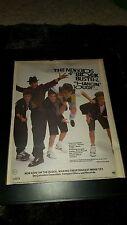 Nkotb Hangin' Tough Rare Original Radio Promo Poster Ad Framed!