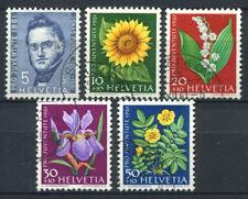 Schweiz 1961 Mi. 742-746 Gestempelt 100% Pro Juventute, Blumen, Furrer