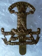 Leicestershire Yeomanry Cap Badge All BRASS Slider