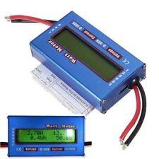 Simple Alimentation Dc Analyseur Watt Volt Amp Mètre 12V 24V Vent Solaire