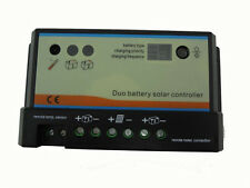 10A Duo-battery solar charge controller 12/24v, solar regulator, for two battery