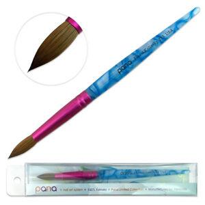 USA #1 Famous PANA Top Quality Kolinsky Acrylic Round Nail Brush Size 6 to 22
