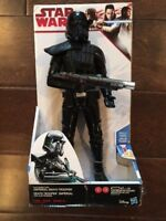 "Star Wars Rogue One - Electronic Duel Imperial Death Trooper 12"" Action Figure"
