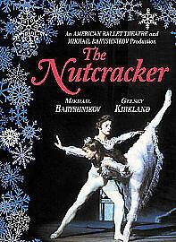THE NUTCRACKER ALL REGION DVD MIKHAIL BARYSHNIKOV GELSEY KIRKLAND VGC