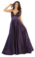NEW SPECIAL OCCASION FORMAL EVENING GOWN RED CARPET PROM DRESS