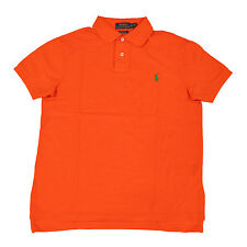 Polo Ralph Lauren Custom Fit Polo Shirt Mens Pique Mesh Pony Logo S M L Xl Xxl