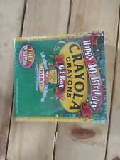 Limited Edition Unopened Box of 64 Crayola Crayons 40th Anniversary