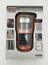 Brother P Touch Edge Pt E105 Electrical Cable And Wiring Label Maker