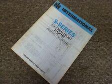 1986 international 1654 1753 1754 truck electrical wiring diagrams manual