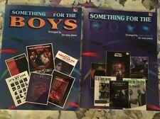 (2) Something For The Boys  & Something More For The Boys -song/ Music Books