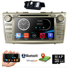"8"" fits Toyota Camry 2007-2011 GPS Auto Car Dash DVD Stereos+ Camera+JBL Adapter"