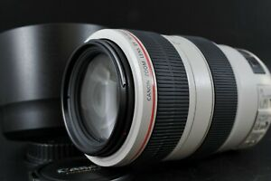 [Mint] Canon EF 70-300mm F4-5.6 L IS USM Zoom AF Lens With Hood and Cap