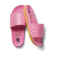 IN HAND Vans Slide On x Simpsons Donut Size 4 FREE SHIPPING