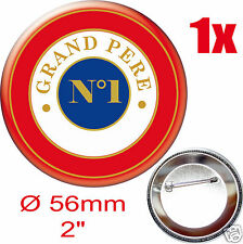 BADGE ROND [56mm] GRAND PERE N°1 cocarde