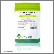 Lindens Ultra Garlic 15,000mg 120 Capsules Mega Strength Heart & Immune Health