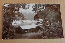 Postcard WW1 Military Camp Near Birnam Perthshire real photo  unposted xc2 card2