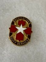 Authentic US Army Brooks Medical Center Hospital DI DUI Unit Crest Insignia S-21
