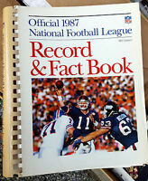 Vintage Annual NFL Record & Fact Books National Football League Lot of 8