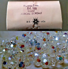 6mm Swarovski Art199 Crystal AURORE BOREALE 216 Glas Perlen Strass Schmuck Kette