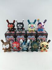 Kidrobot Exquisite Corpse Dunny Series Red Mutuca Studios 9pcs Set