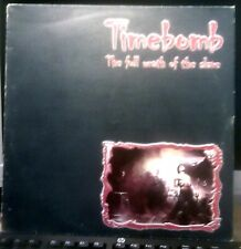 Private Italian Metal LP by TIMEBOMB The Full Wrath Of The Slave 1998 Genet