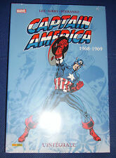 Integrale Captain america 1968-1969 Marvel Lee Kirby Steranko  NEUF