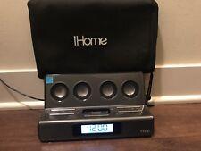 iHome ip28 Travel Alarm Clock w/ Dock