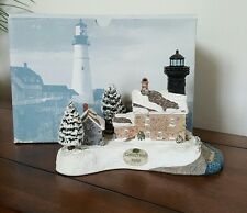 Harbour Lights Christmas 1998 Old Field Point #707 Box