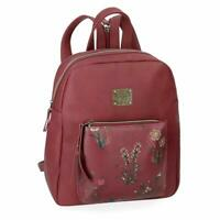 Zaino Backpack PEPE JEANS Bordeaux Donna Woman 24x28x10cm 7312061