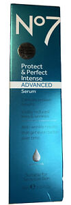 No7 Protect & Perfect Intense Advanced Serum 30ml,Visibly Reduced Lines&Wrinkles