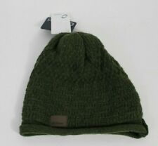 CHAOS Green PREPPY Wool Blend Knit Beanie Mens OS Winter Hat NWT NEW WITH TAGS