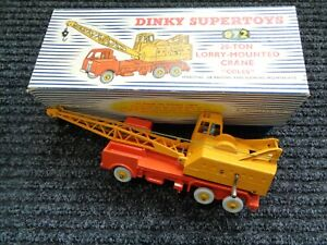 DINKY SUPERTOYS #972 LORRY-MOUNTED 20-ton CRANE TRUCK - Mint in BOX Original Toy