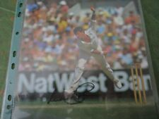 Sir Richard Hadlee (Cricket) Signed Colour Picture.