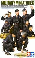 Tamiya 35354 WWII Wehrmacht Tank Crew 1/35 Scale Plastic Model Figures