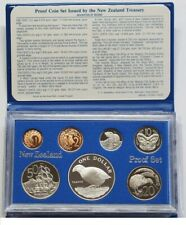 New Zealand - 1982 - Silver Proof Coin Set --  Takahe