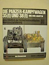 Die Panzer-Kampfwagen 35(t) und 38(t) und ihre Abarten**GERMAN TEXT**