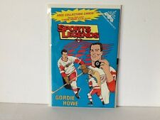 1992 GORDIE HOWE SPORTS LEGENDS Comic Book NEVER READ - NM / MT with 3 Cards