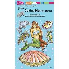 Pearl Mermaid Dies Craft Die Cutiing Die Set Stampendous DCS5088 NEW