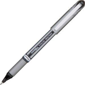 Pentel EnerGel NV Liquid Gel Pen, 0.7mm, Medium Line Capped, Metal Tip, Black...