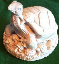 """Unique 6"""" Resin Turtle Figure"""