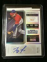 F20665 2018 Contenders Draft Picks Ticket Auto Prospect #56 Tyler Frank/99